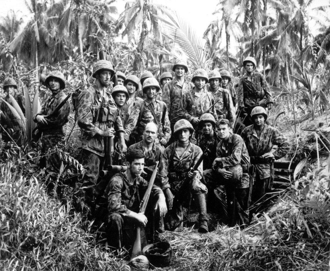 二戰中,在巴紐惡戰日軍的美軍。戰後,此地又聯合國交付澳洲託管。 圖/美聯社