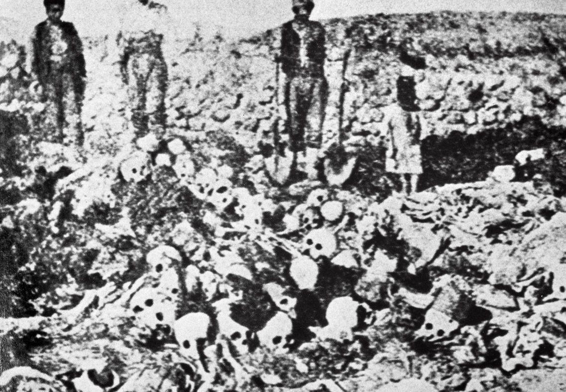 亞美尼亞大屠殺,180萬人被害。 圖/法新社