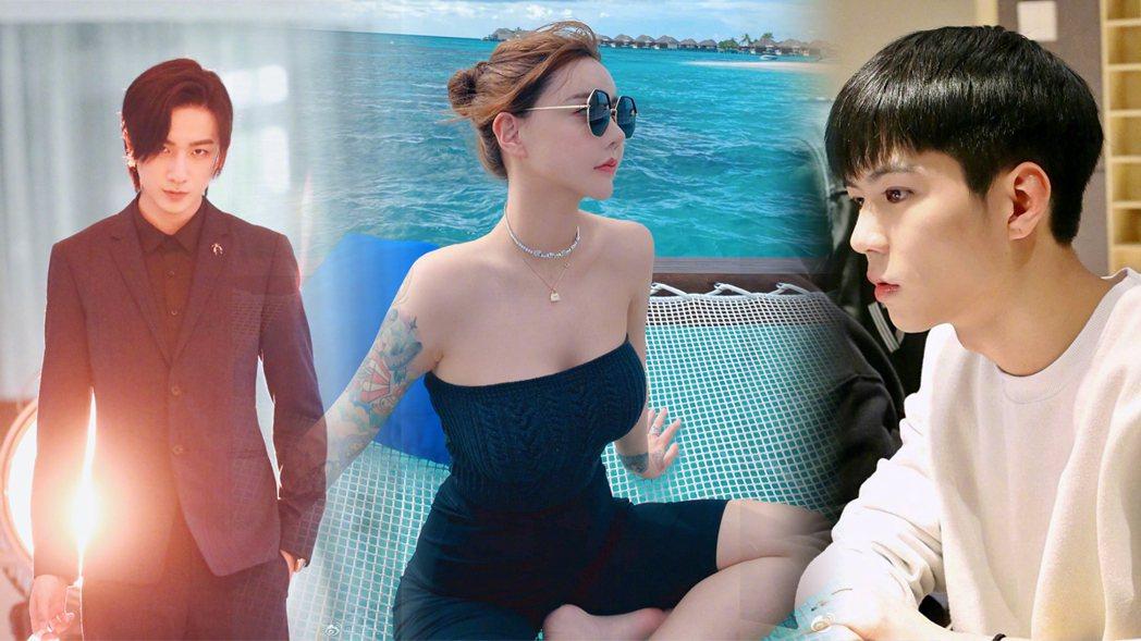 李宏毅、韓安冉、楊桐曾是節目「變形計」中的問題少年少女。圖/擷自微博