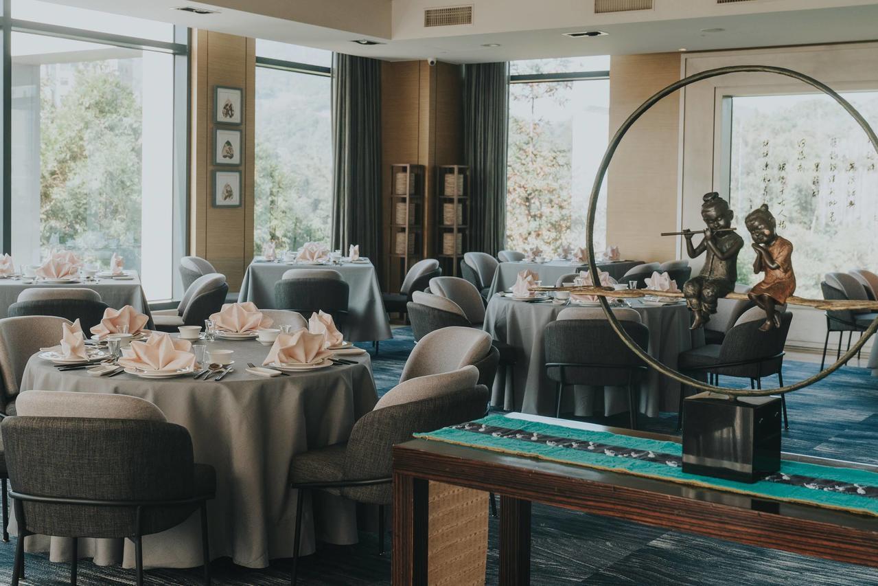 雲品酒店Ken Can餐廳布置充滿強烈的知性風格。 (雲朗集團提供)