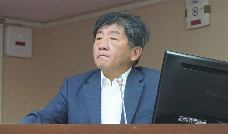 衛福部長陳時中。本報資料照片