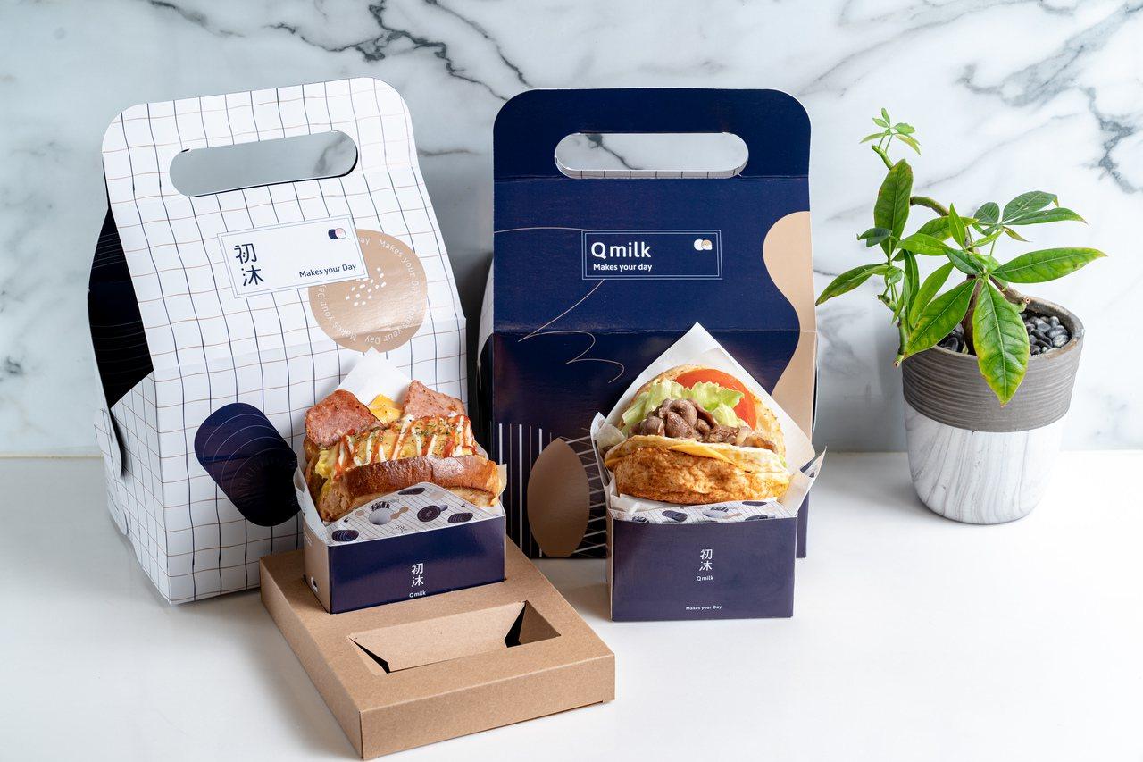 初沐Qmilk的包裝設計,讓人垂涎。圖/基隆市文化局提供