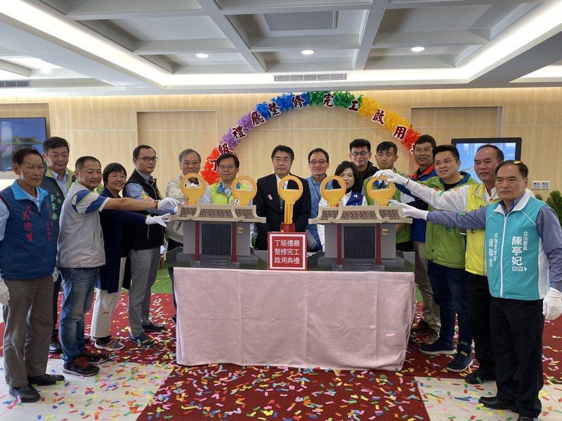 台南市立殯儀館丁級禮廳今天整修完工啟用。記者鄭維真/攝影