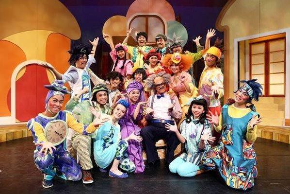 台南耶誕跨年系列活動,第二場在蕭壟文化園區登場,14日下午有如果兒童劇團演出。圖...