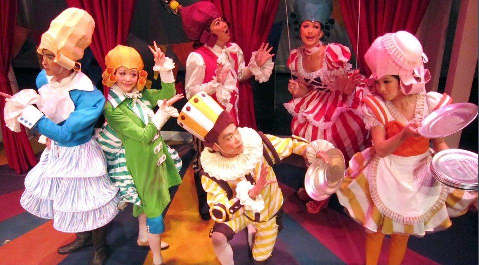 台南耶誕跨年系列活動,第二場在蕭壟文化園區登場。圖/台南巿府提供