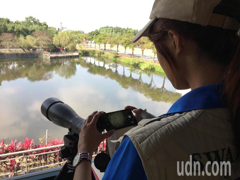 雲林環球科技大學觀光系與生態旅遊系搶攻生態導覽市場,培育學生擔任生態嚮導,不僅獲得阿里山國際賞鳥大賽第一名,及最年輕參賽獎,甚至還沒畢業已經可以接案擔任賞鳥嚮導助理。記者陳雅玲/攝影