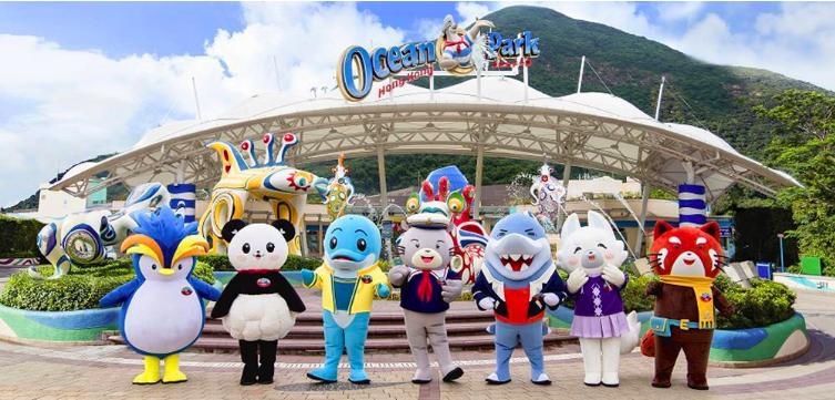 圖為香港海洋公園。圖/國泰航空提供