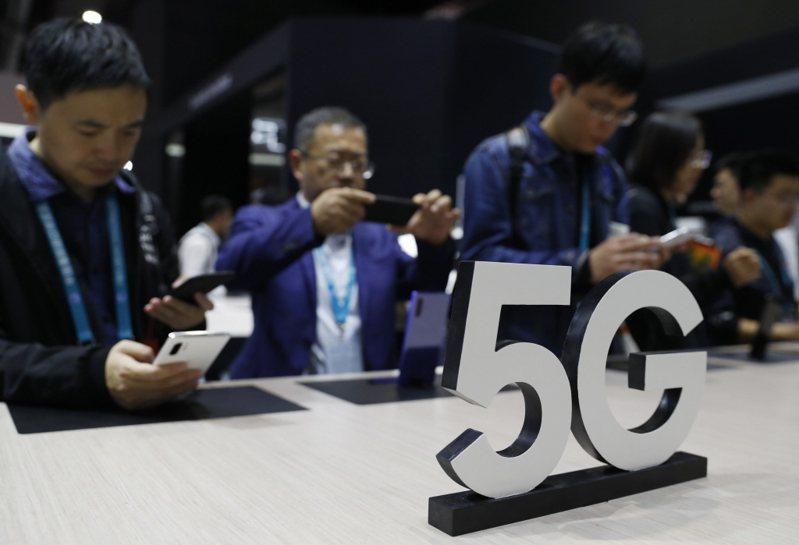 大陸5G手機11月出貨超逾500萬支。本報資料照片