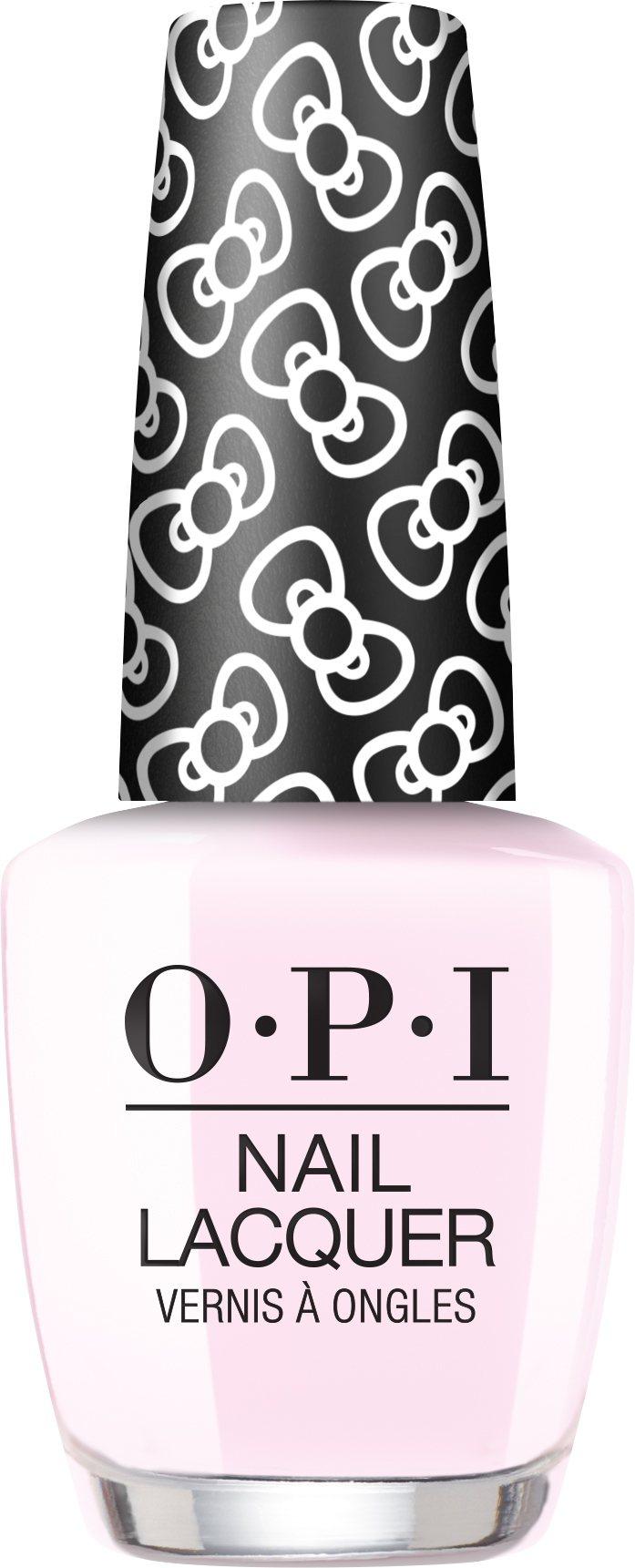 2015年OPI、Hello Kitty首次聯名就引起粉絲瘋搶的淡粉色「NLH8...