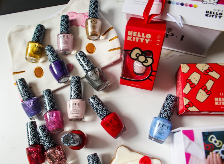 Hello Kitty Collection by OPI耀眼假期系列融合繽紛閃...