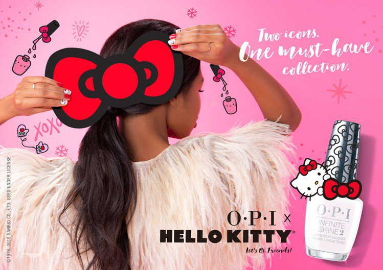 OPI、Hello Kitty第三度攜手合作,推出「Hello Kitty Co...