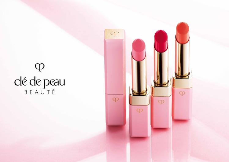 肌膚之鑰奢華訂製粉漾潤唇膏,春夏新色,讓妳畫出好氣色。圖/肌膚之鑰提供