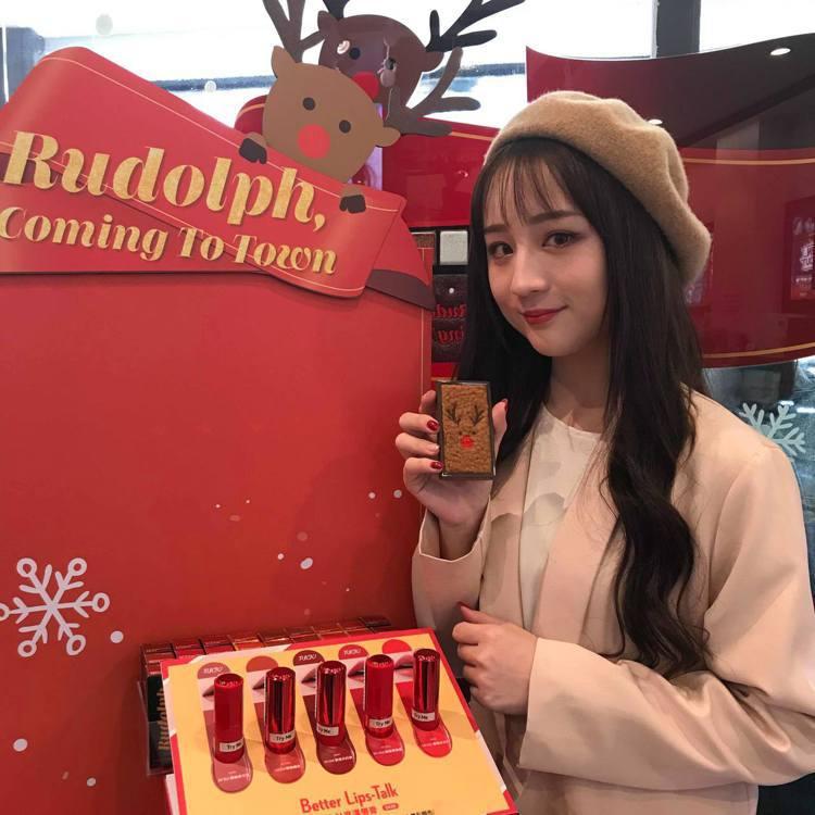 ETUDE HOUSE耶誕限定的魯道夫系列12月在屈臣氏西門門市開賣。記者陳立儀...