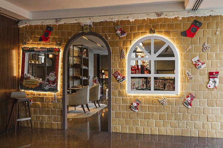 薑餅小屋 The Cake Room。圖/香格里拉台北遠東提供