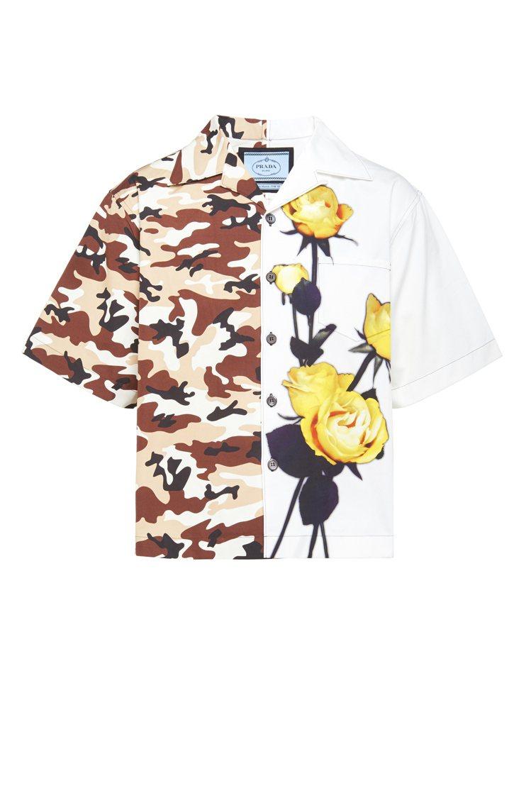 雙面印花襯衫,36,000元。圖/PRADA提供