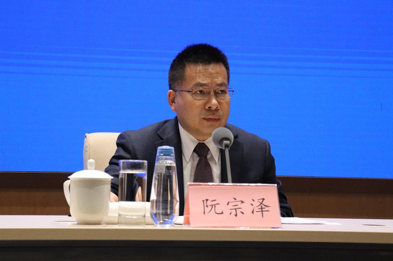 中國國際問題研究院常務副院長阮宗澤。特派記者呂佳蓉/攝影