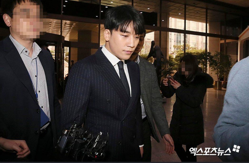 南韓檢方再對勝利提請拘捕令。圖/摘自xportsnews