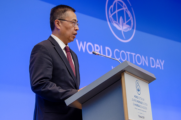 大陸常駐WTO代表張向晨。(取自中國常駐WTO代表團官網)