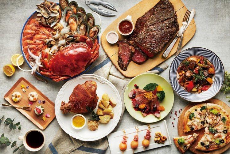 饗食天堂全新姊妹品牌「旭集」也將進駐遠百信義A13。圖/饗食天堂提供