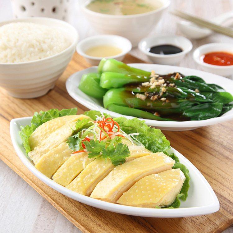 三巡海南雞飯將於A13首度登台。圖/Food Opera食代館提供