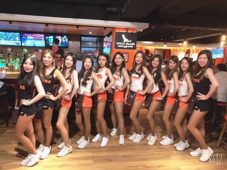 美式運動餐廳Hooters。圖/取自Hooters Taipei粉絲頁