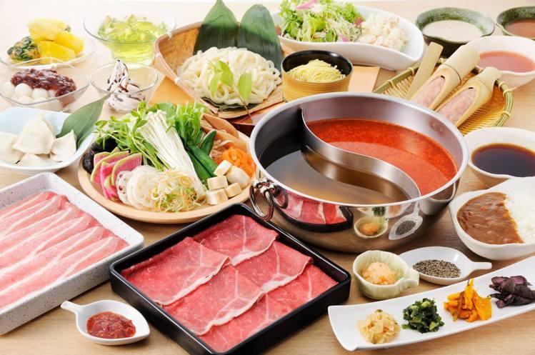 涮乃葉提供日式涮涮鍋物。圖/取自涮乃葉 syabu-yo 日式涮涮鍋吃到飽