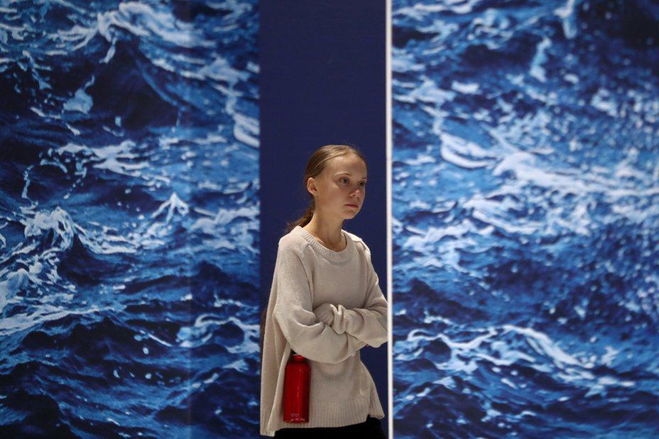 瑞典環保少女童貝里。 (路透)