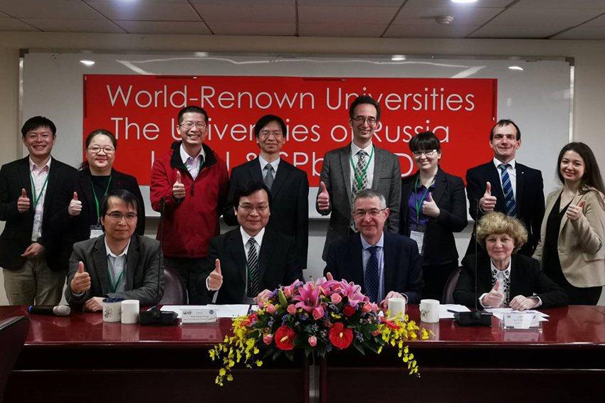 中原大學工學院與俄羅斯兩所頂尖大學合作,攜手培育國際工程人才。 中原大學/提供