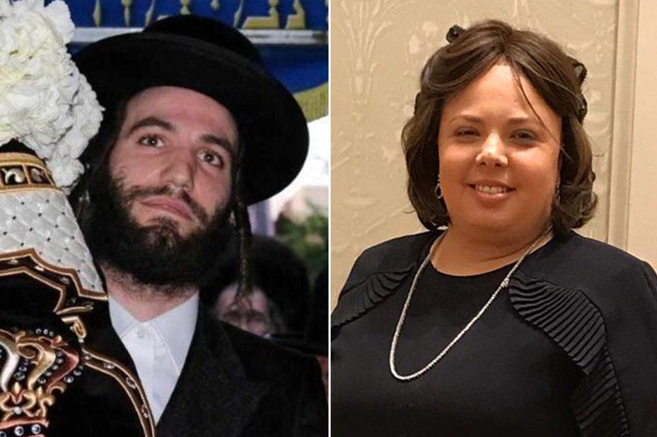 在槍擊中喪生的33歲猶太超市老闆娘費倫茨(Leah Mindel Ferencz)與其24歲表弟德威許(Moshe Deutsch)。取自社交網站