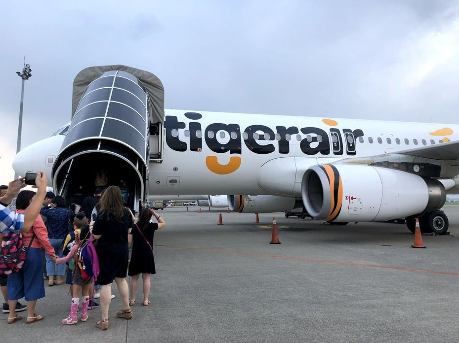 全台首家低成本航空公司台灣虎航16日將以每股41元登錄興櫃。圖/聯合報系資料照片