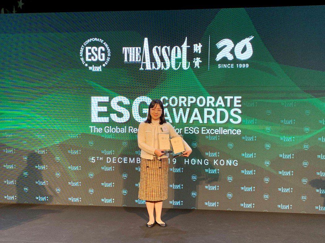 北富銀獲國際知名財經媒體《財資雜誌》「The Asset ESG Corpora...
