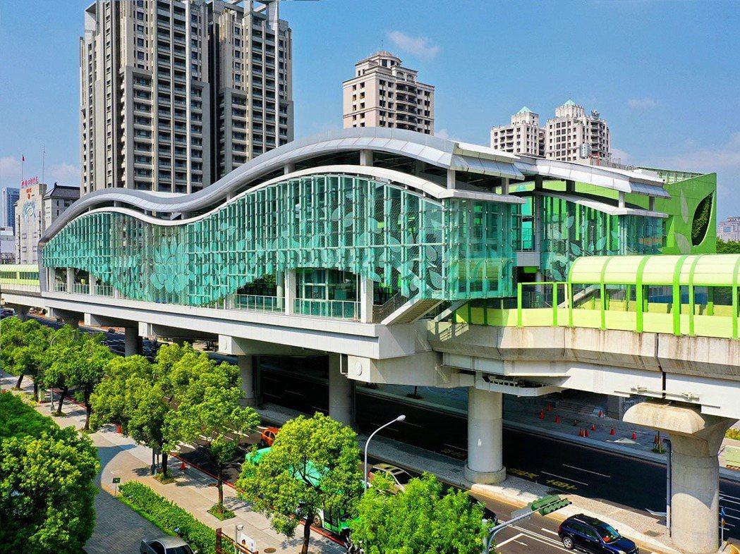 「文心愛悅」緊鄰捷運G12站,出站即到家。 圖/興富發建設 提供