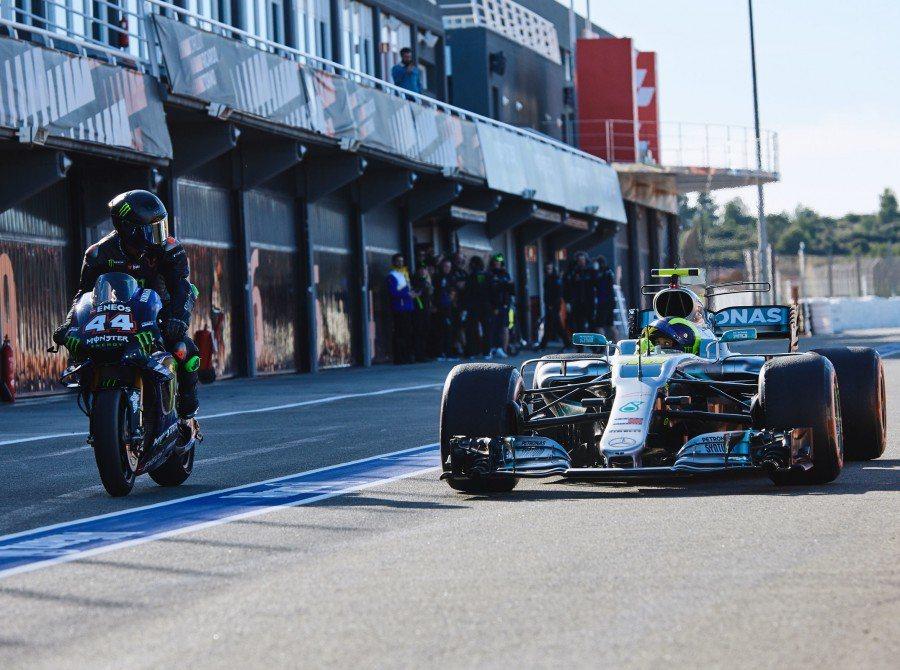 圖左:Hamilton #44 圖右:Rossi #46。 圖/Monstere...