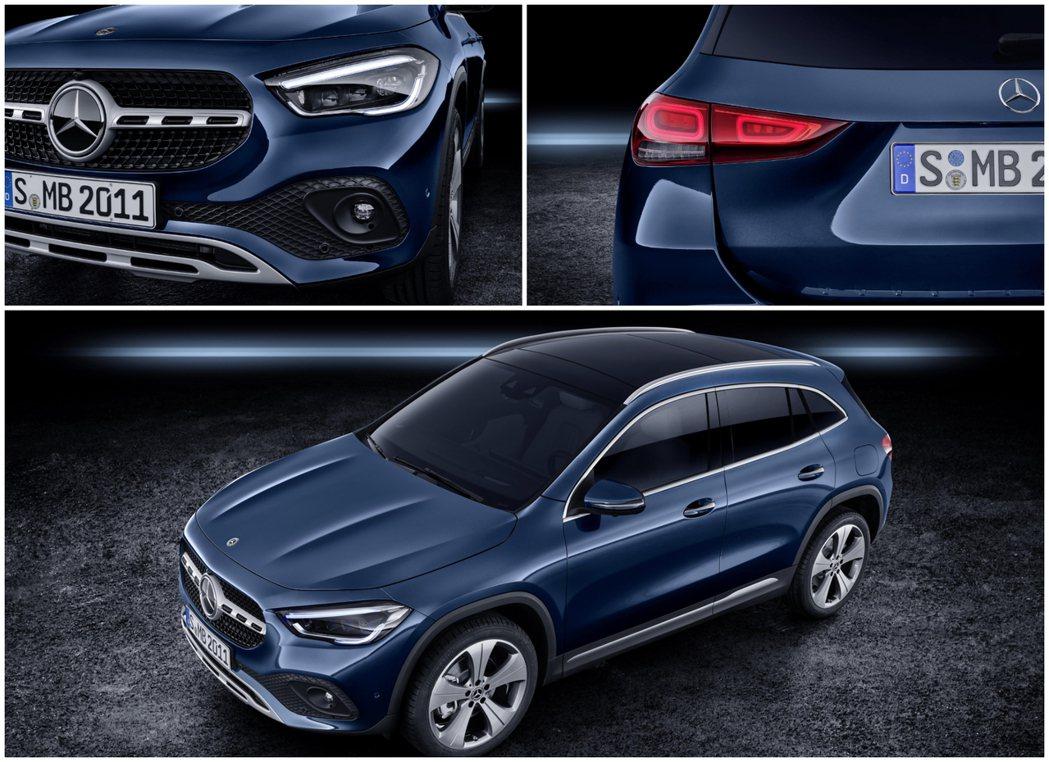 第二代Mercedes-Benz GLA初期在歐洲僅提供搭載1.33升渦輪增壓四...