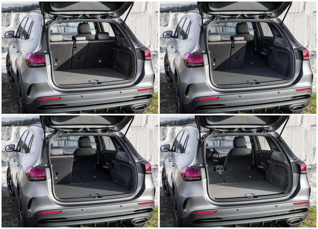 第二代Mercedes-Benz GLA行李箱容量最多可達到1,430公升。 摘...