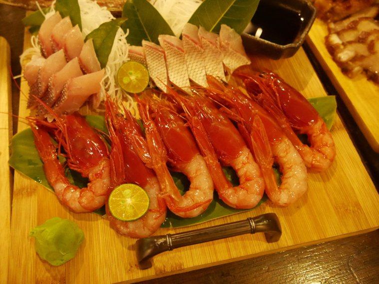 胭脂蝦。記者吳淑君/攝影