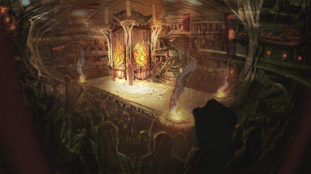 賽特為了父親而戰,過去賽特父親曾經是愛歐尼亞地下競技者的傳奇