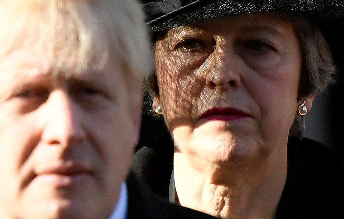 今年11月陣亡將士紀念日,梅伊以「前首相」的身分出席倫敦和平紀念碑的致意觀禮,並...