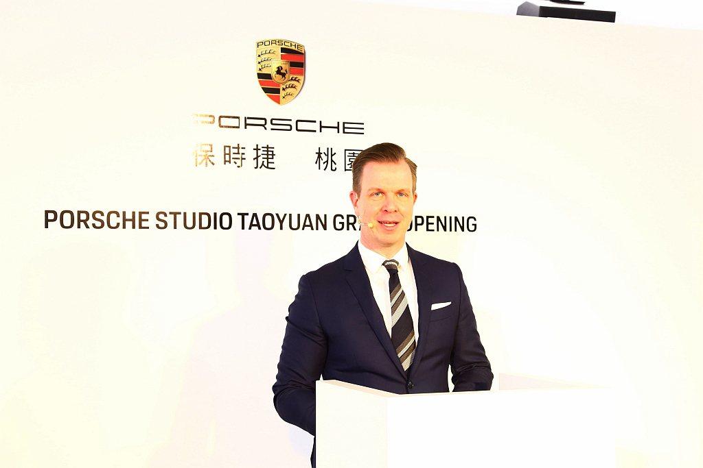 台灣保時捷CEO Mathias Busse表示:「在瞬息萬變的世界,台灣保時捷...