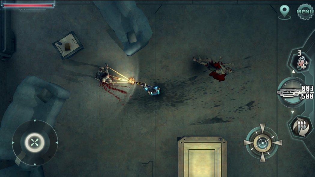 以鳥瞰視點進行探索,並用武器給予攔路的敵人痛擊