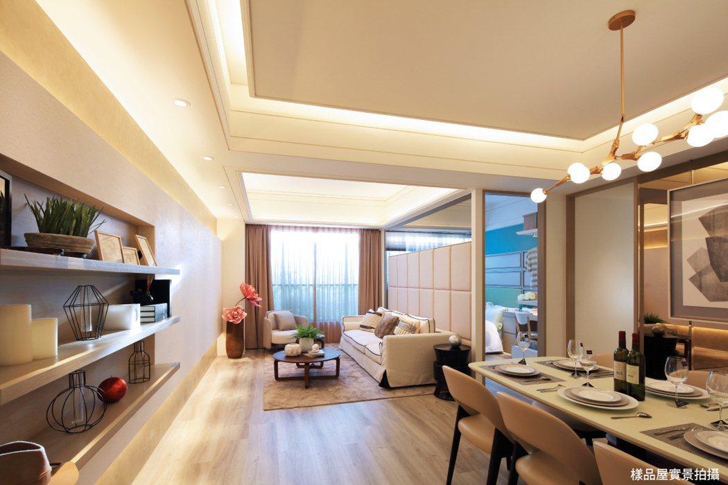 A7地王「竹城甲子園」,不用千萬就能買到大三房,吸引首購搶進。 圖/竹城建設 提...