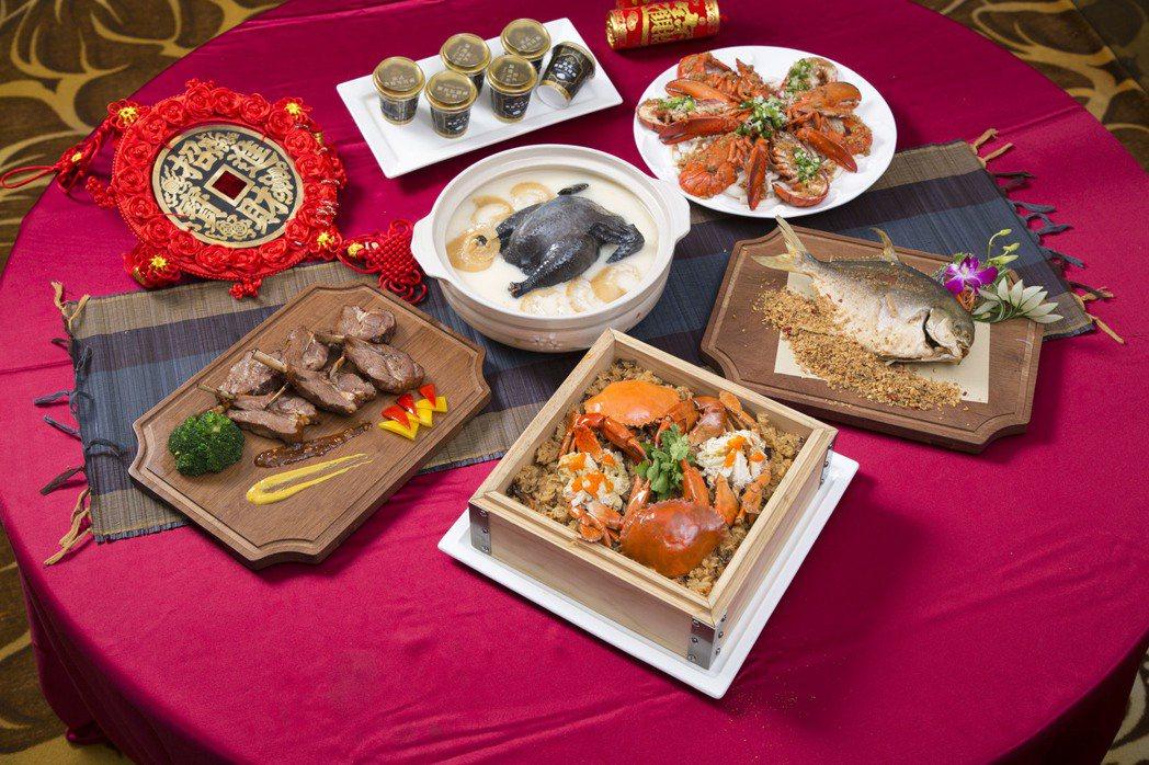 晶宴會館『外帶年菜組』。業者/提供