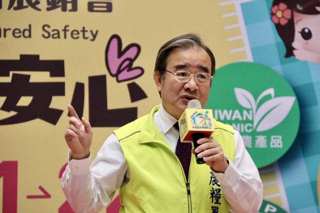 農糧署長胡忠一表示,國人越來越重視食安問題,為提供民眾安全、安心食材,農委會近年...