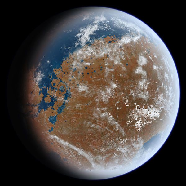 來自NASA的火星偵察軌道器和火星奧德賽軌道器的數據,也已經能夠探測到地表以下水...