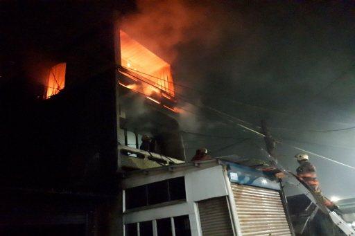 台南市2月初下營區民宅火災,疑因電氣因素釀成大火。圖/台南市消防局提供