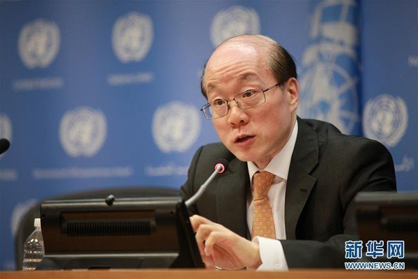 大陸國台辦主任劉結一。新華社資料照片