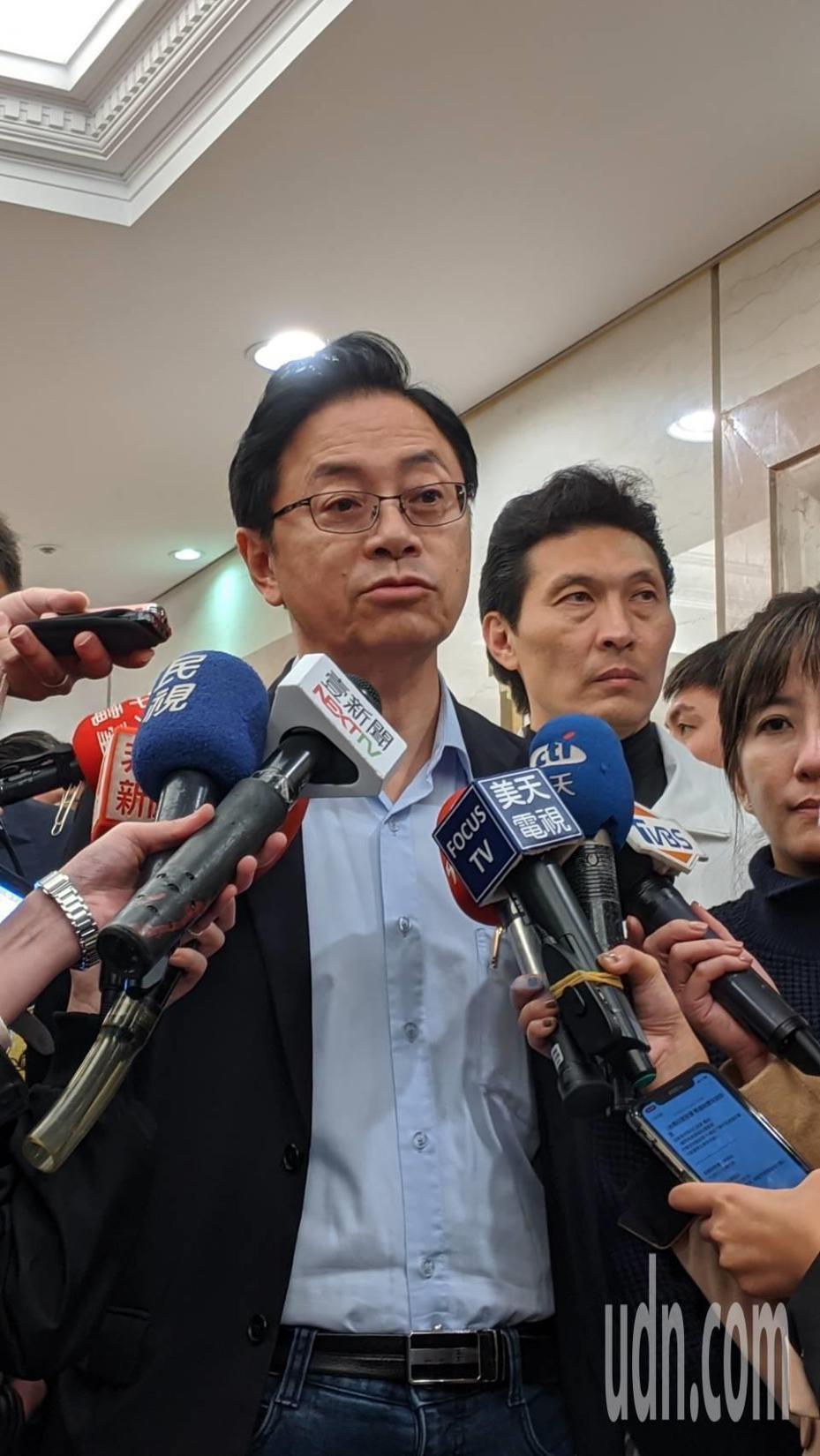 國民黨副總統候選人張善政。記者蔡佩芳/攝影