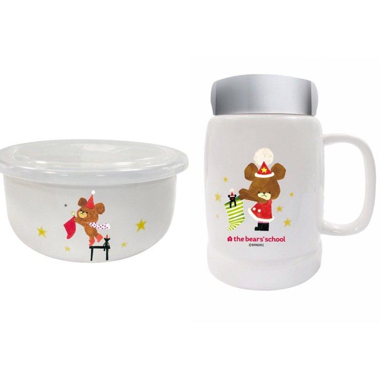 環球購物中心推出滿額或App扣點可獲小熊學校陶瓷杯、陶瓷保鮮碗,鼓勵消費者多使用...