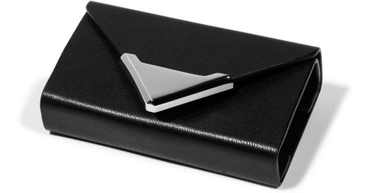 alexanderwang皮革耳機收納盒原價2,800元,2折價760元。圖/微...