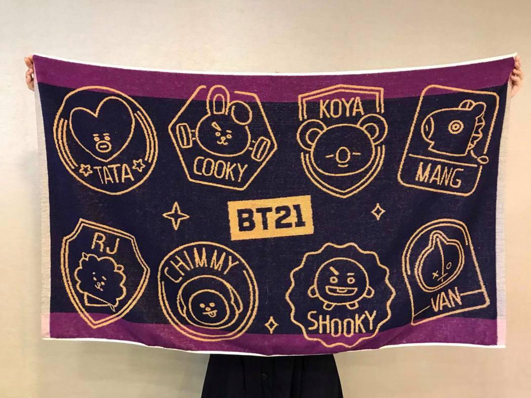 全家便利商店12月18日上午10點起推出「BT21宇宙明星Now全家」只愛你大浴...